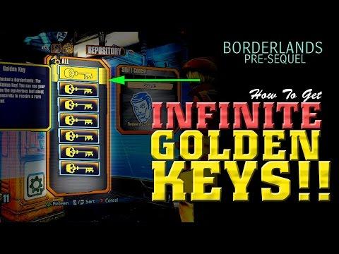 INFINITE Golden Keys Glitch - Borderlands Pre-Sequel