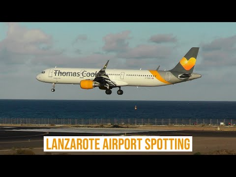 Lanzarote Airport Spotting ✈ An Afternoon of Arrivals & Departures