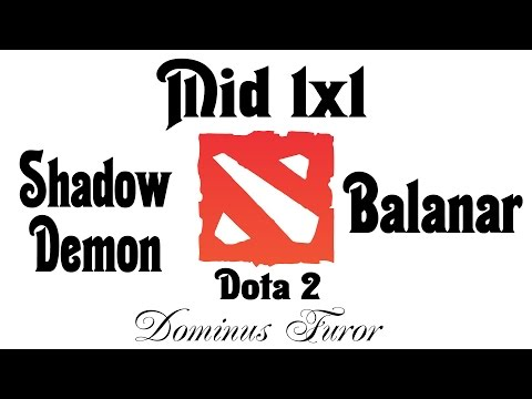 Фурор & Mid 1x1 | SD vs Balanar | Бог на миде #006