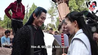 [VIETSUB] Hậu trường Chiêu Diêu - Bạch Lộc Hứa Khải cạp nhau trên núi