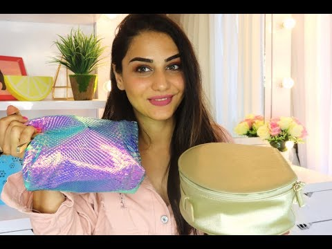 WHAT I PACKED FOR MY SOLO EURO TRIP | MAKEUP & SKIN CARE | SIMMY GORAYA