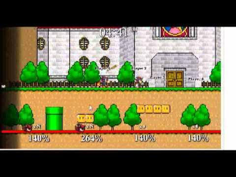 Sonic et Luigi Sonic vs Shadow vs Luigi vs