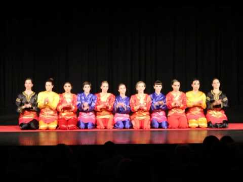 Tari Saman, Bidadari Indonesian Dance Studio, Kbri Belgrade video