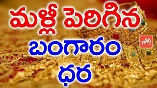 మళ్లీ పెరిగిన బంగారం ధరలు | Latest news- #Gold Price Hikes | YOYO TV Channel