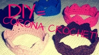 DIY= CORONA / CROWN A CROCHET :)