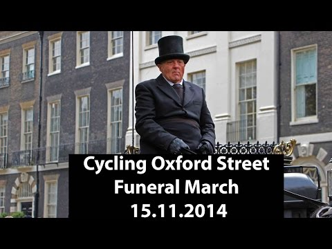 Oxford Street Cycling Funeral March November 2014: Stop Killing Cyclists