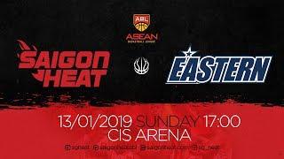 ABL9 || Home - Game 12: Saigon Heat vs Hong Kong Eastern 13/01 | Full Game Replay