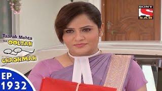 Taarak Mehta Ka Ooltah Chashmah - तारक मेहता - Episode 1932 - 9th May, 2016