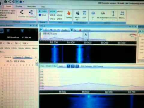 sdr-radio rtl2832u e4000 FM Bandwidth test