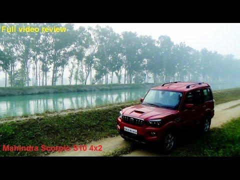 2014 Mahindra Scorpio S10 4x2 video review