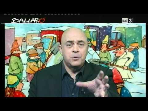 MAURIZIO CROZZA – Ballarò 07/02/2012 – Roma e la neve