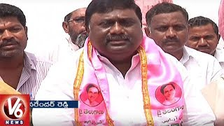 TRS Leader Banda Narender Reddy Slams Komatireddy For Accusing CM KCR