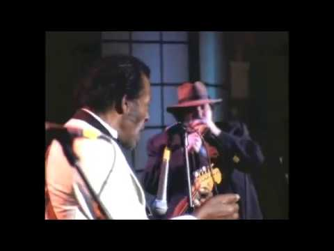 "Chuck Berry Performs ""Roll Over Beethoven"" at 1994 Hall of Fame Inductions"