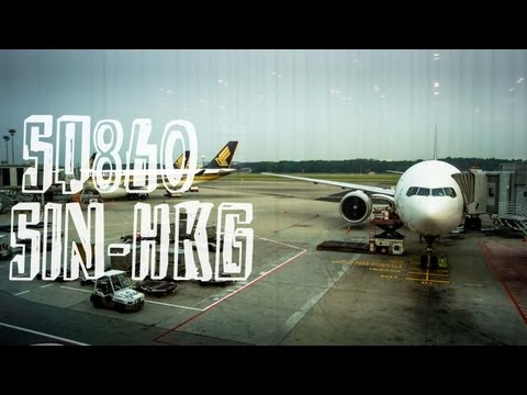 Singapore Airlines SQ860 : Flight from Singapore to Hong Kong