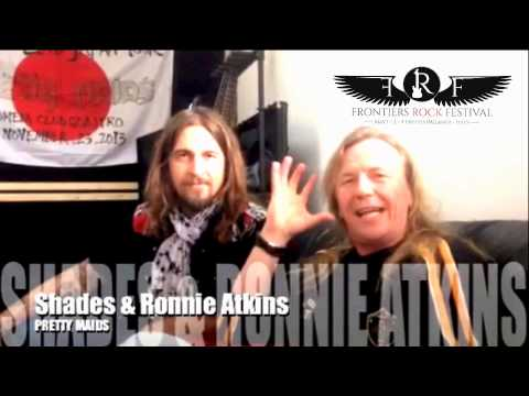 Frontiers Rock Festival - Message from Ronnie Atkins & Rene Shades (Pretty Mairds)