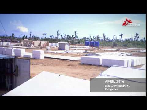Timelapse: 4 months to build a hospital after Typhoon Haiyan