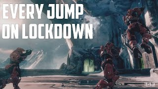 Every Lockdown Jump - Halo: The Master Chief Collection
