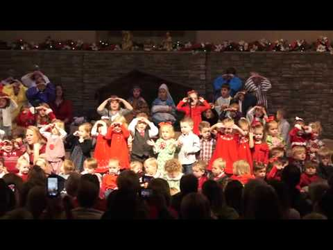 Bright Beginnings Preschool Christmas Program 2013