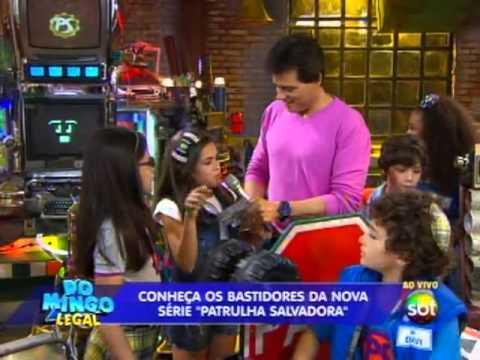 Domingo Legal (01/12/13) - Especial mostra bastidores de A Patrulha Salvadora