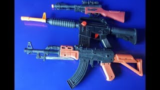 Boxes of Toys! New Model Toy Guns for My Collection! USA & RUSSIA & EURO Toy Weapons