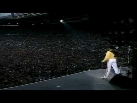 Queen - Under Pressure (Live @ Wembley)