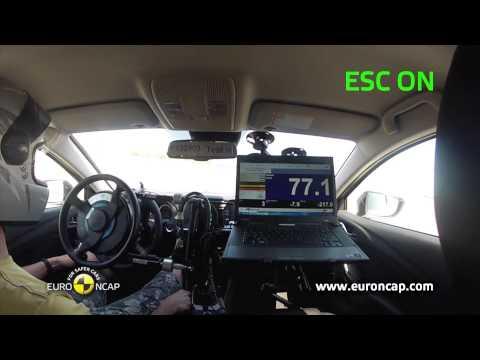 Euro NCAP | Mazda 6 | 2013 | ESC краш-тест