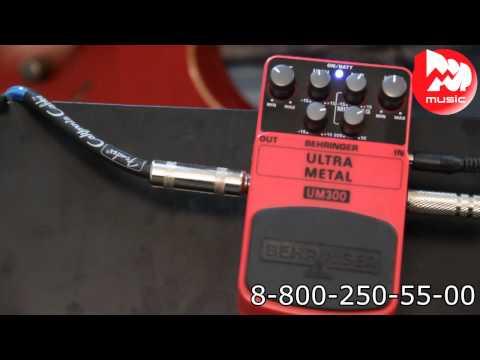 Гитарный эффект BEHRINGER UM300 ULTRA METAL