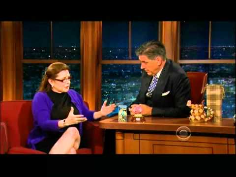 Craig Ferguson 5/31/12D Late Late Show Carrie Fisher XD