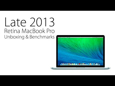 13-inch Apple MacBook Pro With Retina Display - Late 2013: Unboxing & Benchmarks