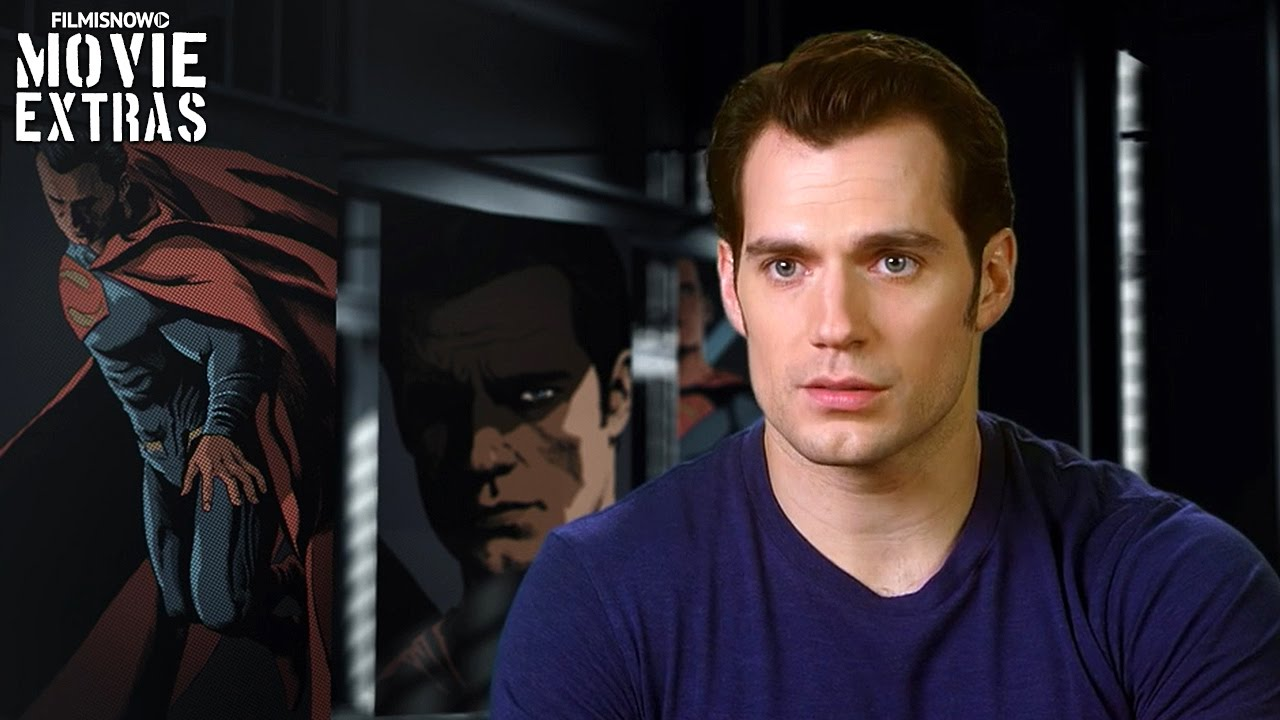 Henry Cavill is 'Superman/Clark Kent' in Batman v Superman: Dawn of Justice [On-Set Interview]