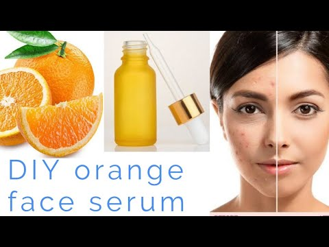 Homemade orange face serum | Get flawless skin by using this face serum