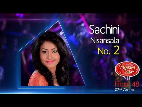 Dream Star Season 7 | Final 48 ( 02nd Group ) Sachini Nisansala - 10-06-2017