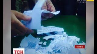 Як розвивається передвиборчий скандал у Чернігові - (видео)