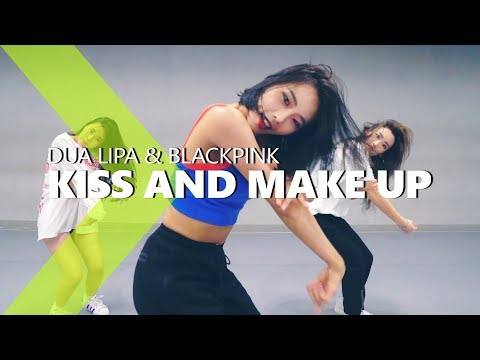 Dua Lipa & BLACKPINK - Kiss and Make Up / HAZEL Choreography. MP3
