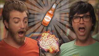 Rhett & Link Sing to their theme [Good Mythical Soda]