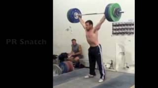 Jon North Unofficially Breaks American Snatch Record with 166kg at California Strength
