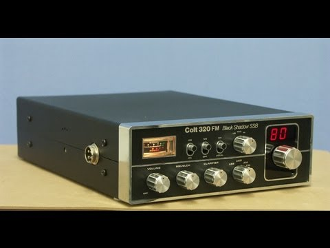 Colt 320FM Black-Shadow HAM-CB-Radio by CYBERNET