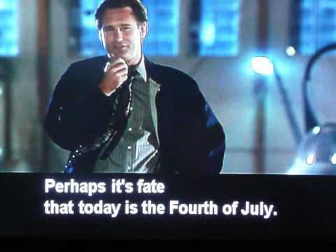 "President's pep speech in ""Independence Day"""