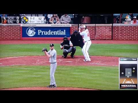Chris Sale Slider vs. Orioles lol