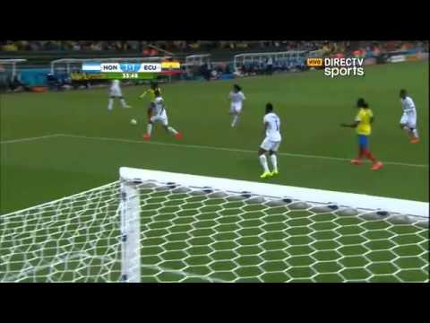 Honduras 1 - Ecuador 2 Mundial Brasil 2014 - Directv sports