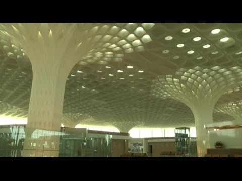SNEAK PEEK: MUMBAI'S NEW INTERNATIONAL AIRPORT TERMINAL - BBC NEWS