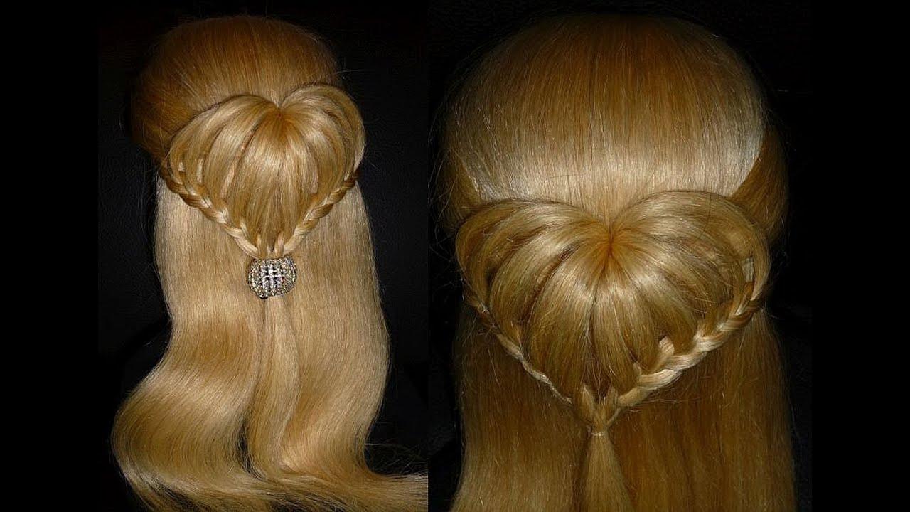 Причёски для средних волос для девочек в школу с
