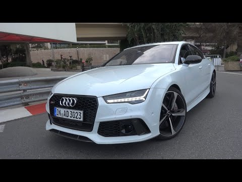 605HP Audi RS7 Sportback Performance - INSANE Revs & Onboard Ride!