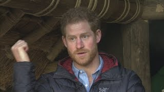 "Prince Harry defends veterans' ""dark sense of humour"""