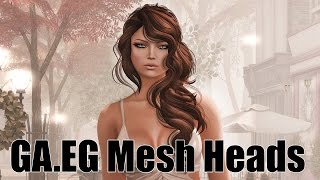 GA.EG Mesh Heads & Eyes in Second Life