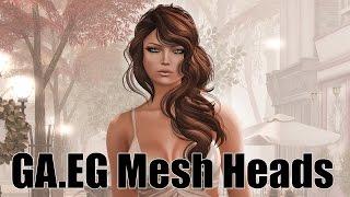 GA.EG Mesh Heads & Eyes in Second Life