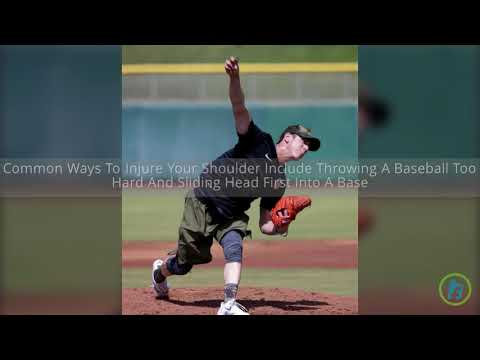 What are Baseball-related Shoulder Injuries?