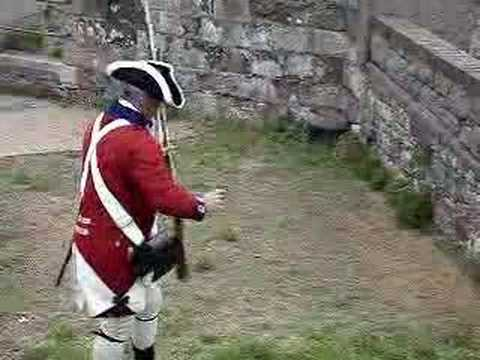 Brown Bess Musket: Three shots in 46 seconds