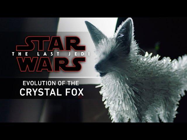 Star Wars The Last Jedi  Evolution of the Crystal Fox