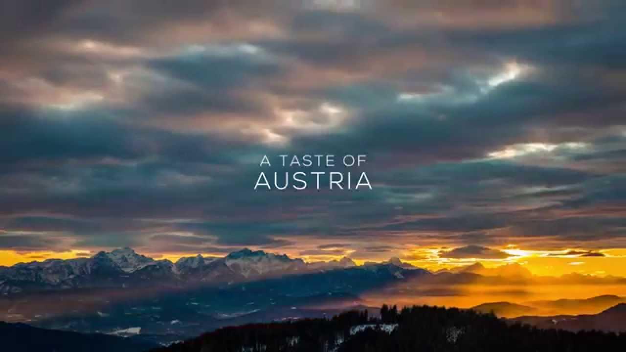 Un superbe timelapse : A Taste of Austria